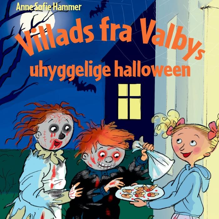 Image of Villads fra Valbys uhyggelige halloween (Lydbog)