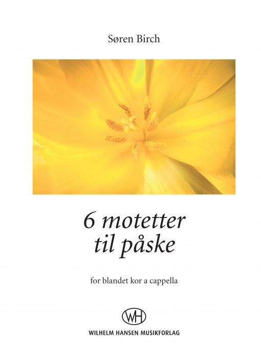 Image of   6 motetter til påske (E-bog)
