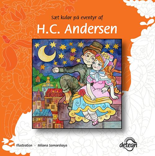 Sæt kulør på eventyr af H.C. Andersen (Bog)