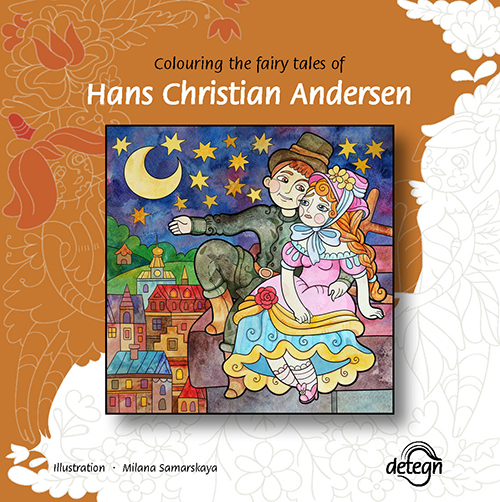 Image of   Colouring the Fairy Tales of Hans Christian Andersen (Bog)