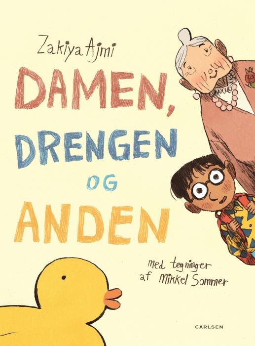 Image of   Damen, drengen og anden (Bog)