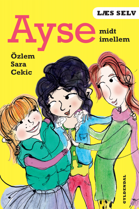 Image of Læs selv Ayse midt imellem (E-bog)