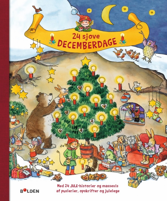 Image of   24 sjove decemberdage (Bog)