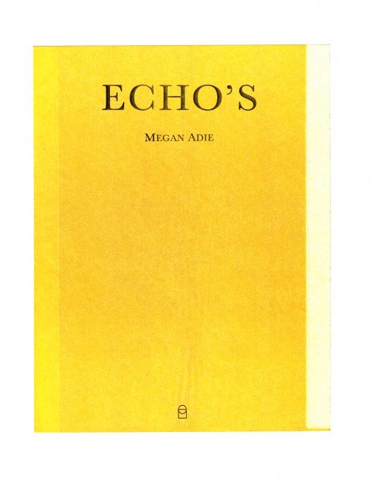 ECHOS (Bog)