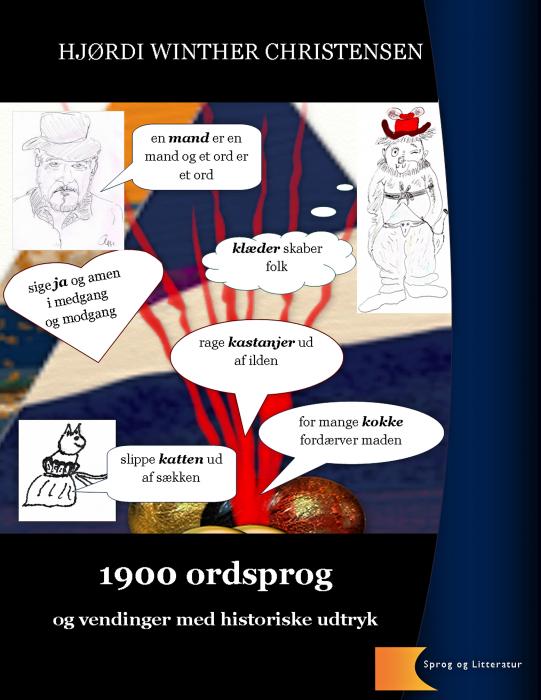 Image of   1900 ordsprog og vendinger med historiske udtryk (E-bog)