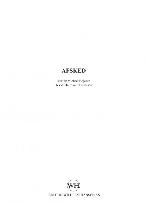 Image of   Afsked (E-bog)