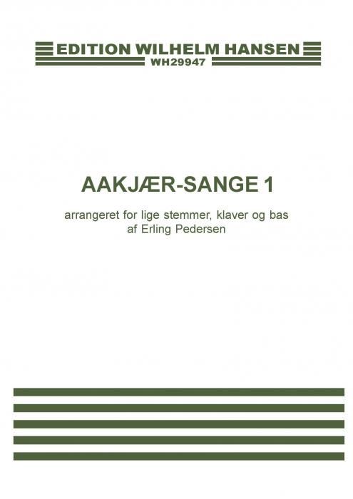 Image of   Aakjær-sange 1 (E-bog)