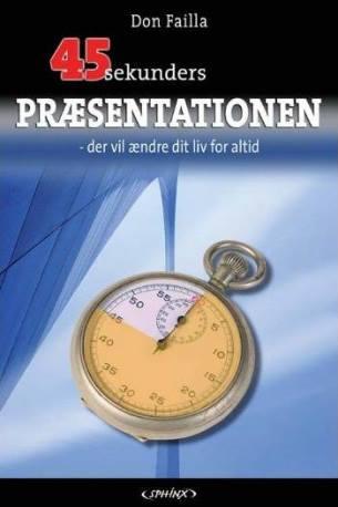 Image of   45 sekunders præsentationen (Lydbog)