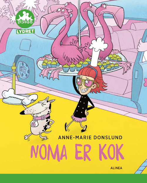 Image of Noma er kok, Grøn Læseklub - Lydret (Bog)