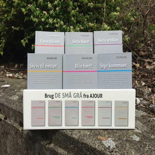 De Små Grå Display med 30 bøger (Bog)