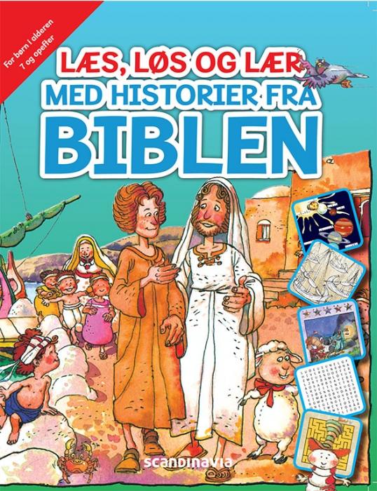 Læs, løs og lær med historier fra Biblen (7+) (Bog)