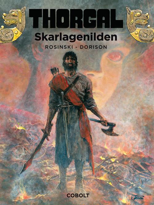 Thorgal 35: Skarlagenilden (Bog)