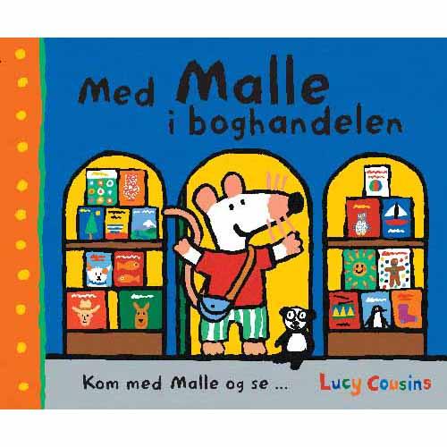 Med Malle i boghandelen (Bog)