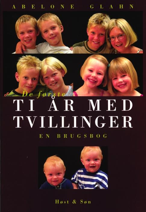 Image of De første ti år med tvillinger (Bog)