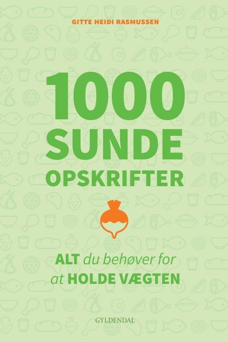 Image of   1000 sunde opskrifter (E-bog)