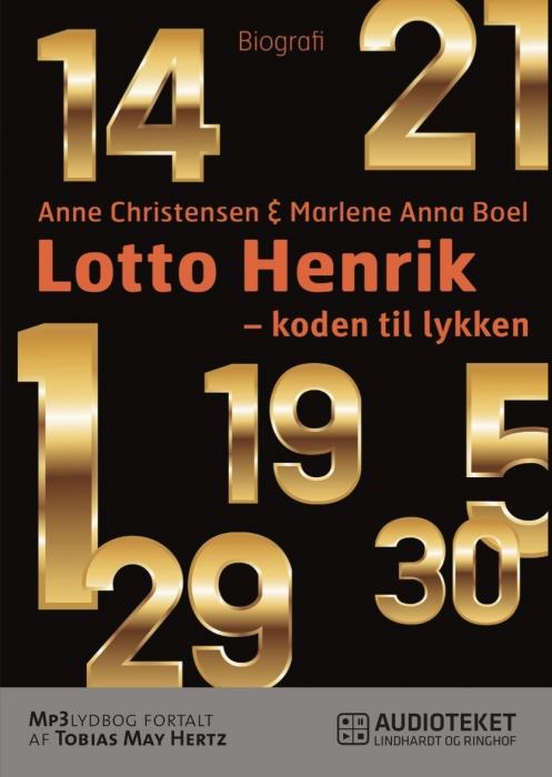 Image of Lotto Henrik - 1-5-14-19-21-29-30 - koden til lykken (Lydbog)
