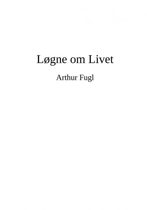 Løgne om Livet (Bog)