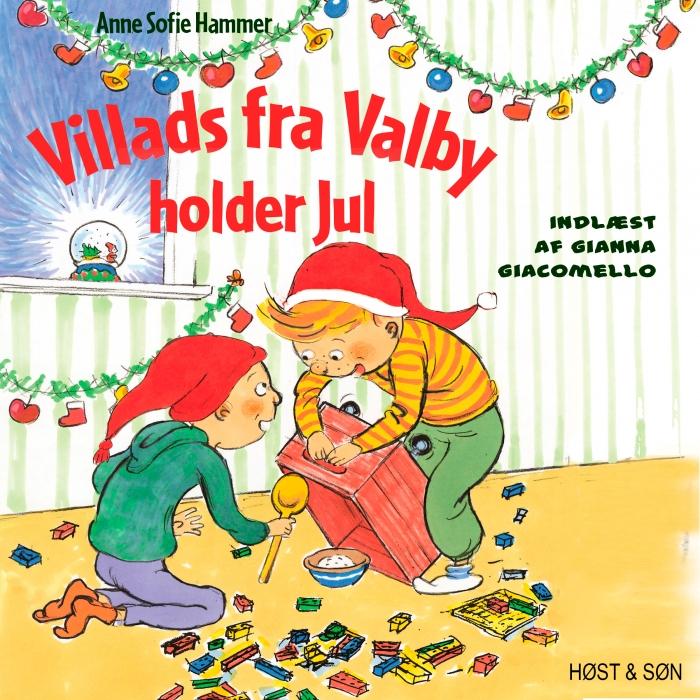 Image of Villads fra Valby holder jul (Lydbog)