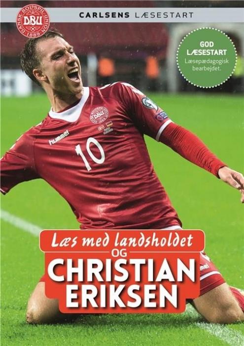 Image of   Læs med landsholdet - og Christian Eriksen (Bog)
