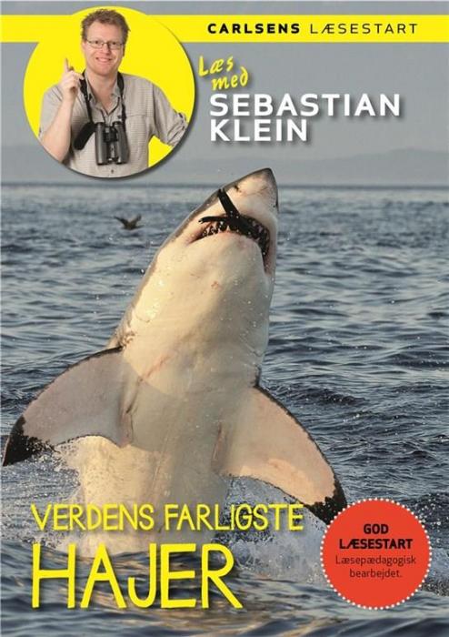 Læs med Sebastian Klein - Verdens farligste hajer (Bog)