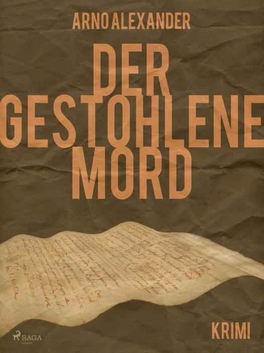 Image of Der gestohlene Mord (E-bog)