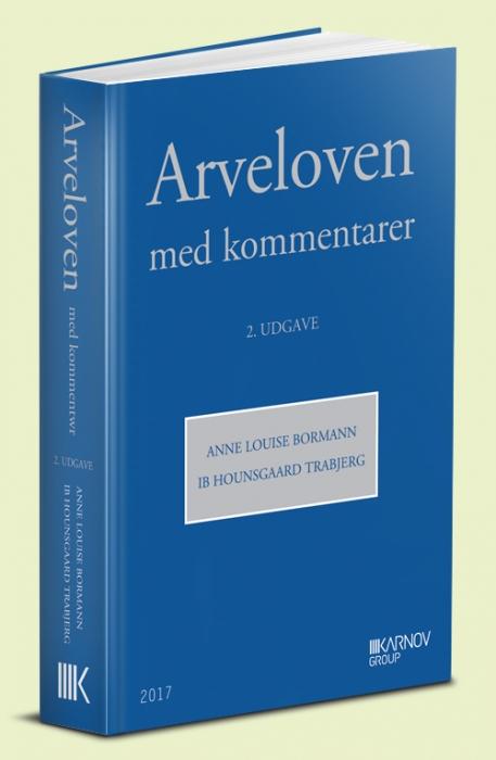 Image of   Arveloven med kommentarer (Bog)
