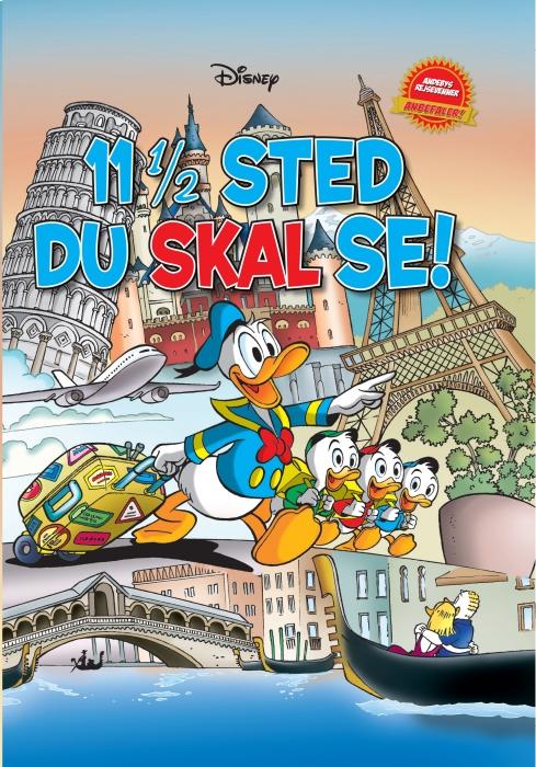 Image of   11 1/2 sted du skal se! (Bog)