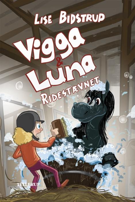 Vigga & Luna #6: Ridestævnet (Bog)
