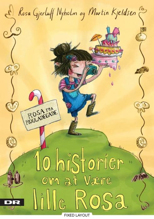 Image of   10 historier om at være lille Rosa (E-bog)