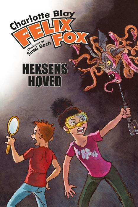 Felix Fox  -  Heksens hoved (E-bog)