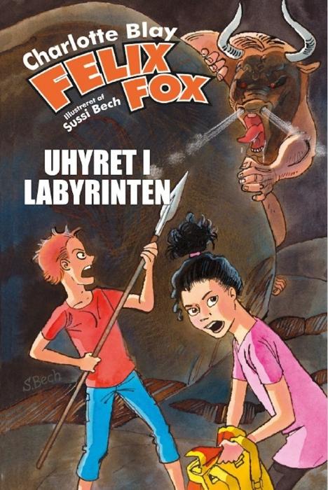 Felix Fox  -  Uhyret i labyrinten (E-bog)