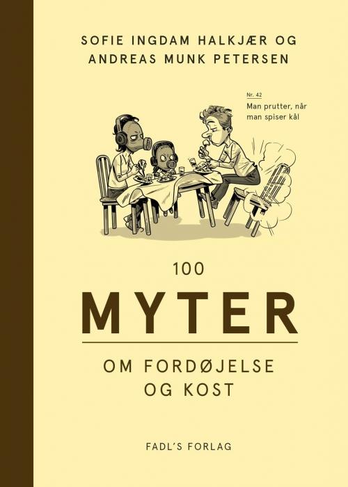 Image of   100 myter om fordøjelse og kost (Bog)