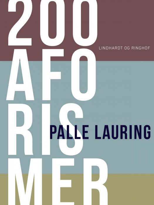 Image of   200 aforismer (E-bog)
