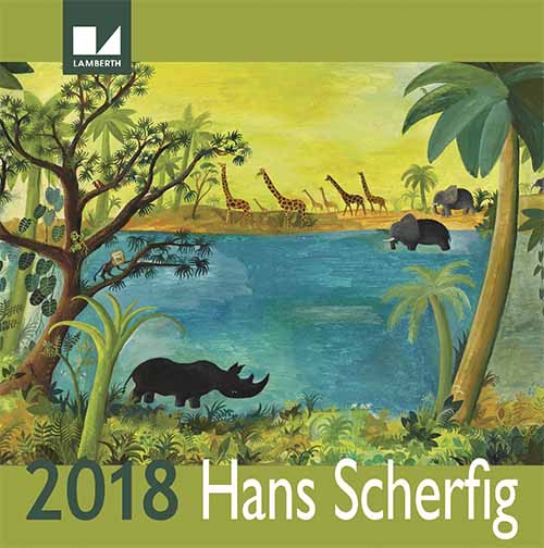 Hans Scherfig kalender 2018 (Bog)