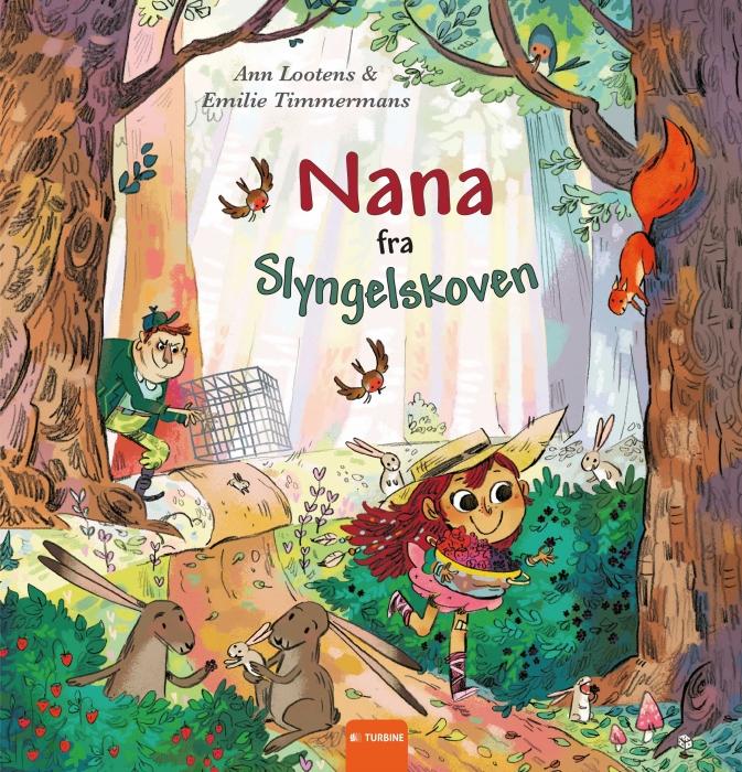 Image of Nana fra Slyngelskoven (Bog)