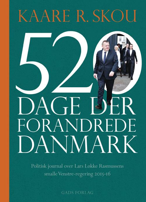 Image of   520 dage der forandrede Danmark (Bog)