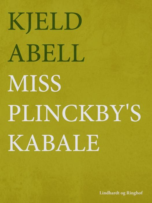 Miss Plinckbys kabale (E-bog)