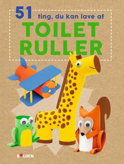 Image of   51 ting, du kan lave med toiletruller (Bog)