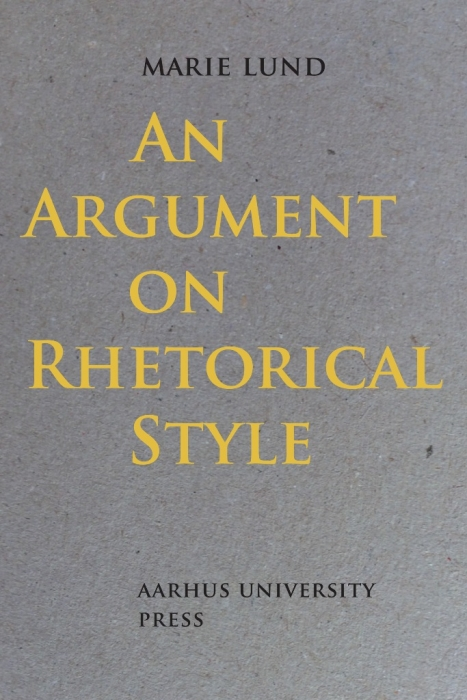 Image of   An Argument on Rhetorical Style (Bog)