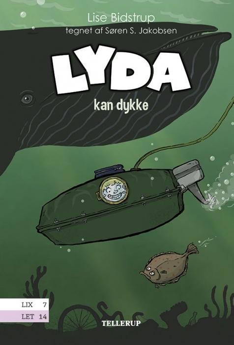 Lyda #4: Lyda kan dykke (Bog)