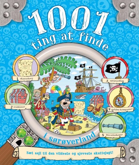 Image of   1001 ting at finde i sørøverland (Bog)