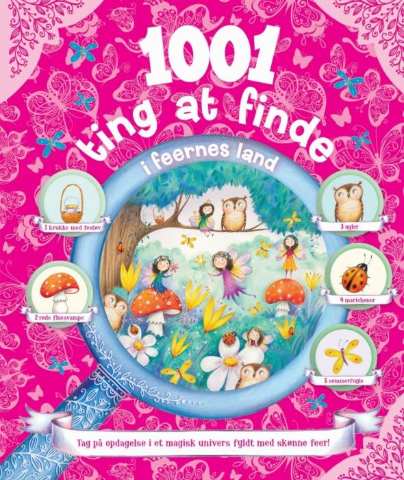 Image of   1001 ting at finde i feernes land (Bog)