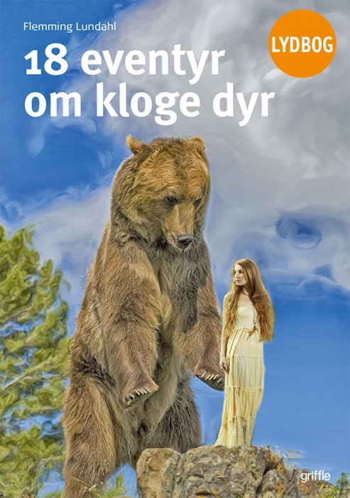 Image of   18 eventyr om kloge dyr (Lydbog)