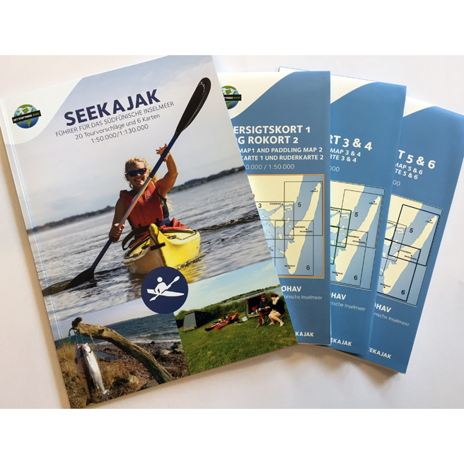 Seekajak - Führer für das südfünische Inselmeer (Bog)