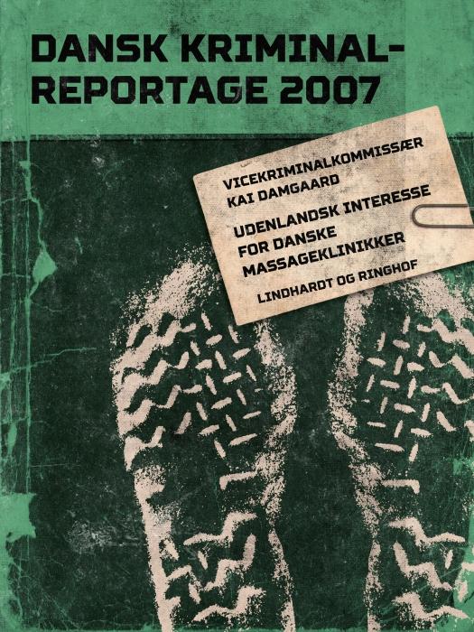 Udenlandsk interesse for danske massageklinikker (E-bog)