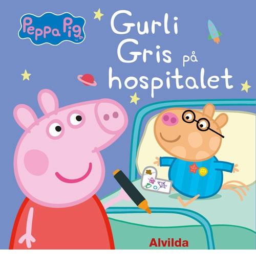 Peppa Pig - Gurli Gris på hospitalet (sæt a 3) (Bog)