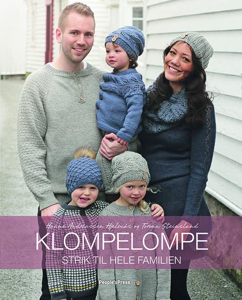 Image of   Klompelompe - Strik til hele familien (Bog)
