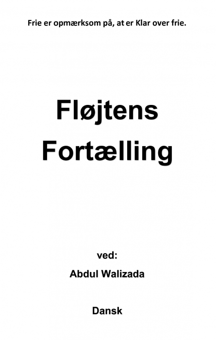 Fløjtens fortælling (Bog)