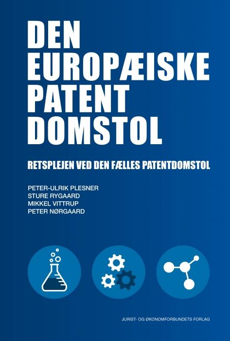 Image of   Den europæiske patentdomstol (Bog)