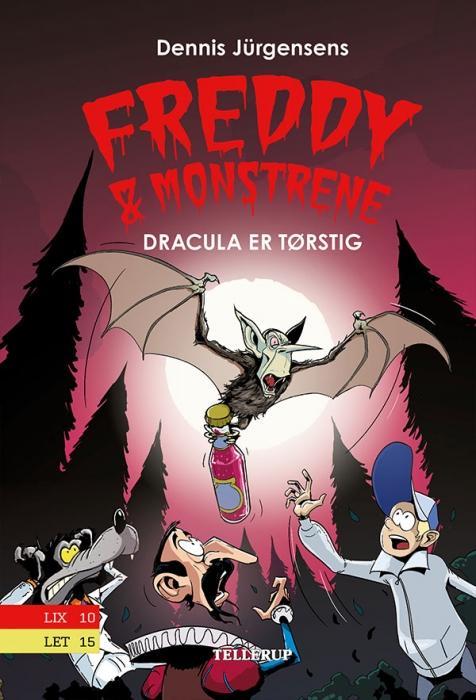 Freddy & Monstrene #3: Dracula er tørstig (Bog)